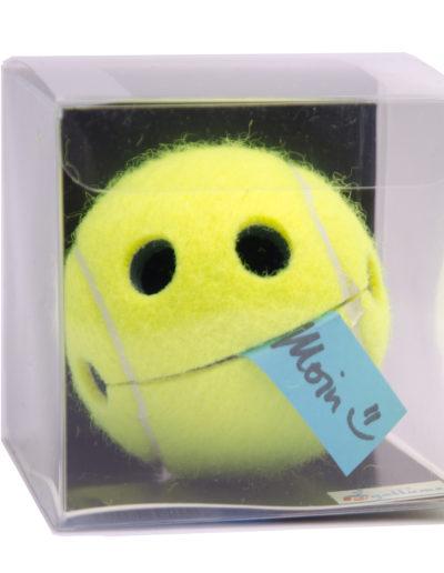 Geschenk Tennis Tennisball Happy